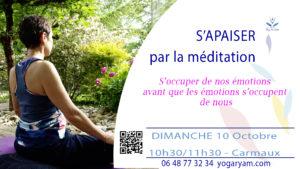 méditation anxiété